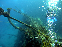 The wreck of Carnatic at abu Nuhas