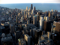 view from 103rd floor of Sears Tower, towards NE