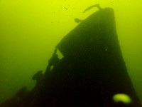 2018-06-10 Coolaroo wreck, bow, engine